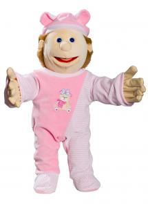Anziehpuppe Baby Eva