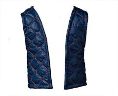 Quilted West darkblue