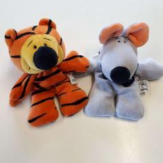 Paket 1 Perlsacktiere Tiger - Maus