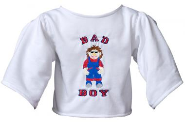 "Shirt ""Bad Boy"" white"