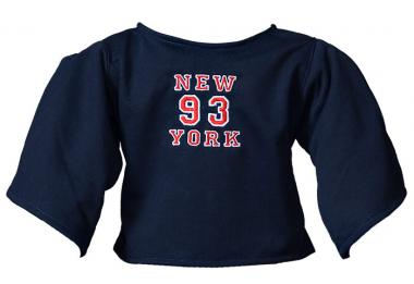 "Shirt ""New York"" dunkelblau"