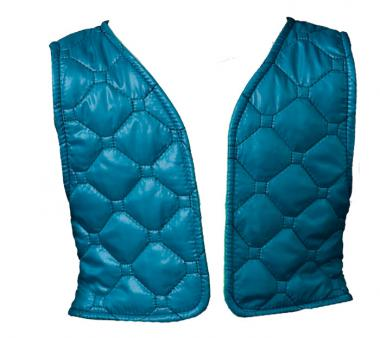 Quilted Vest green