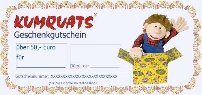 Gift Certificate 50,- €