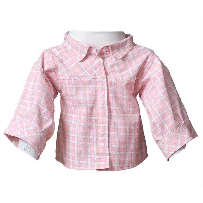 Feincord Bluse rosa