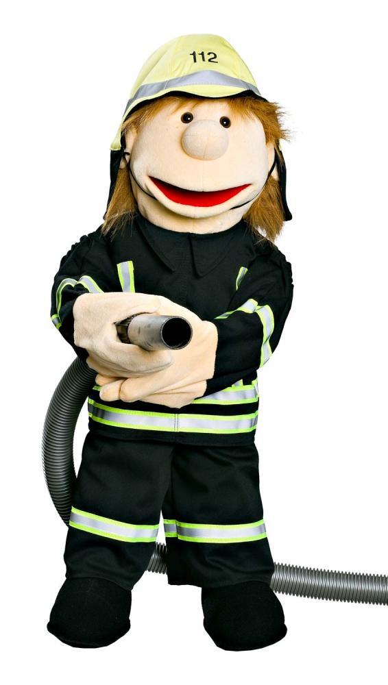 Firefighter-Willi in Black