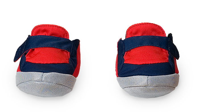 Boys shoes blue-red