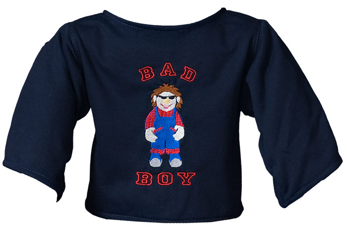"Shirt ""Bad Boy"" darkblue"
