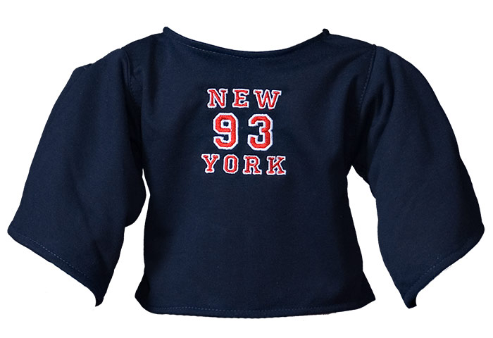 "Shirt ""New York"" darkblue"