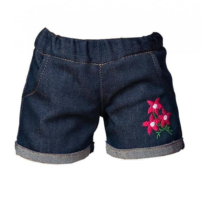 Short trousers blue