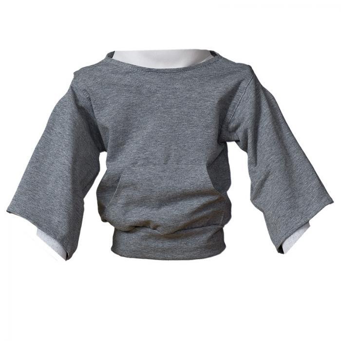 Jogging-Shirt grau