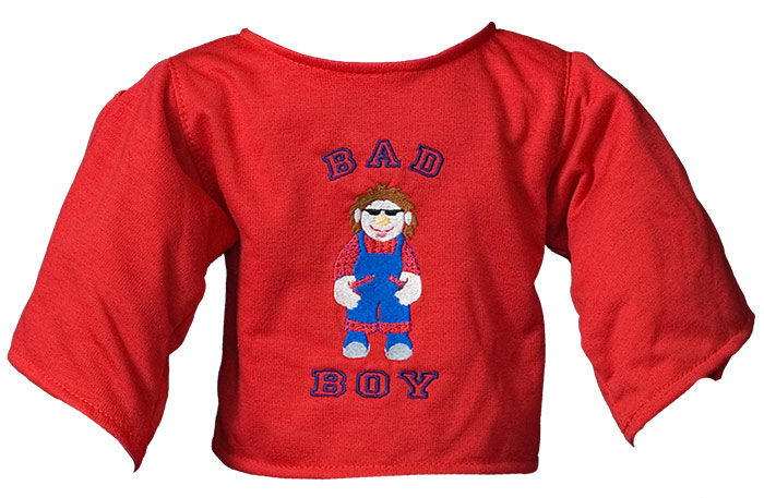 "Shirt ""Bad Boy"" rot"
