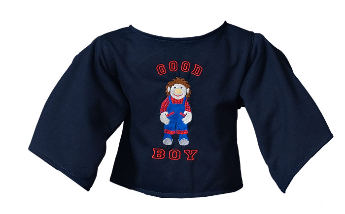 "Shirt ""Good Boy"" dunkelblau"