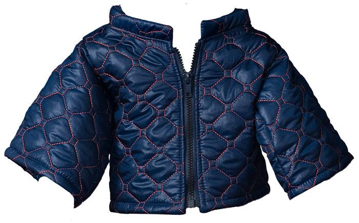 Quilted Jacket darkblue